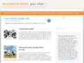 Guide d'assurances  scooter