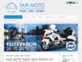 Taxi Moto Paris - Taxi Moto Orly   Roissy
